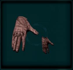 Link-Steel Reinforced Gloves
