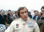 Sport. Motor Racing. Formula One. pic: 3rd June 1979. Gunnar Nilsson Memorial Meeting at Donington Park. Jackie Stewart, Great Britain. Jackie Stewart won the World Championship three times in 1969, 1971, 1973.