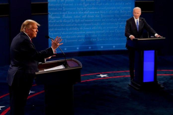 Trump and Biden clash over pandemic in final debate
