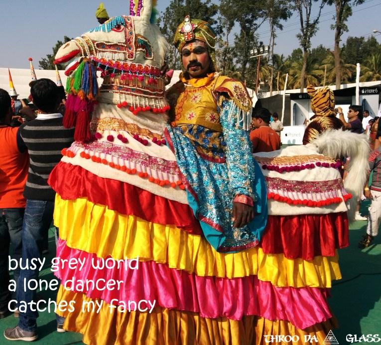 C,culture,dance,horse,colorful,color,wednesday,abc,wordless,praveen,karnataka,bangalore,throo da looking glass