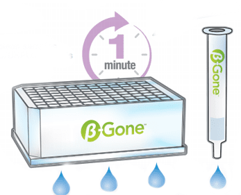 β-Gone for better removal of β-Glucuronidase from urine samples