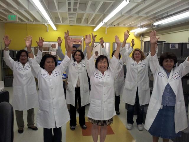Lab exercise at phenomenex