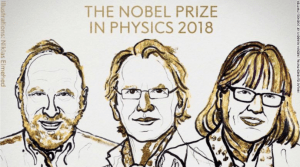 Nobel Prize in Physics 2018—First Woman Winner in 55 Years