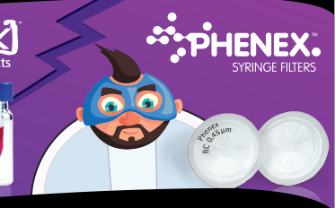 phenex syringe filters