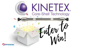 Celebrating 10 Years of Core-Shell LC Technology – Win A Kinetex Column!