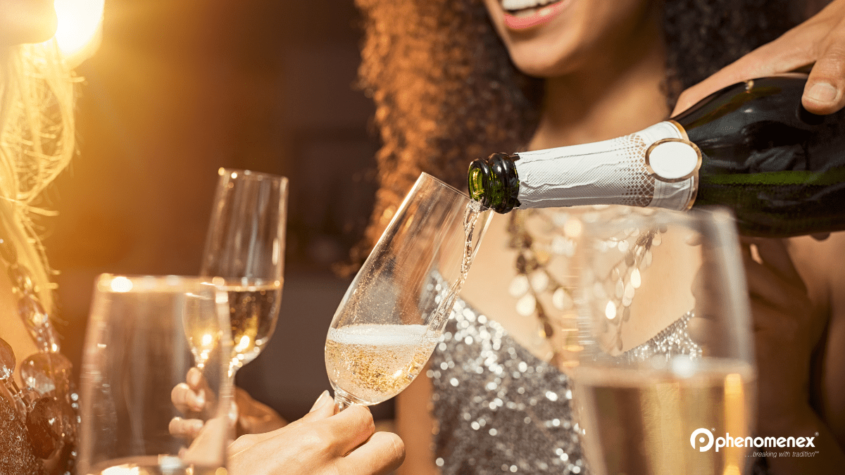 science behind champagne bubbles