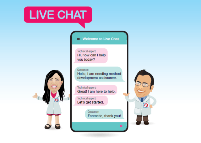 live chat with technical expert grace guo