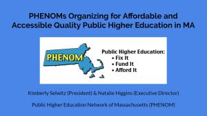 2016 PHENOMS Presentation