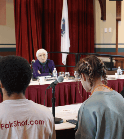 Students Testify at Ways & Means Hearing