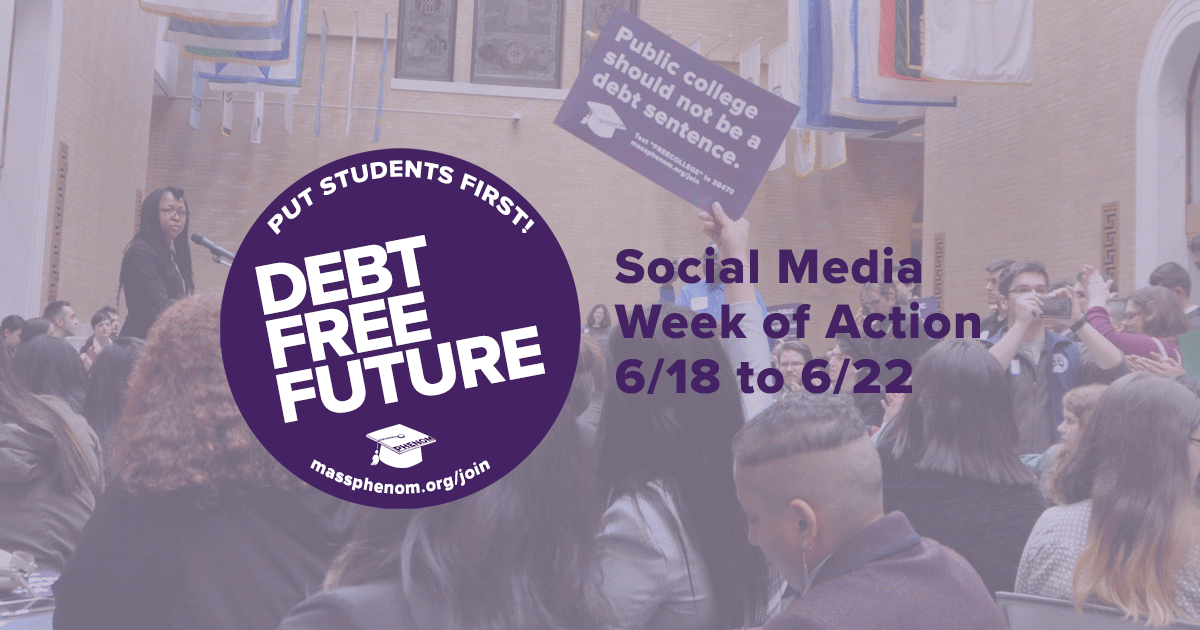 #DebtFreeFuture Social Media Week of Action