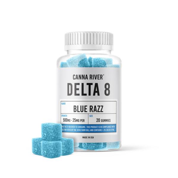 Blue Razz Gummies