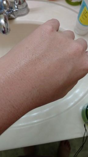 Cream Texture - after