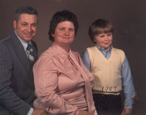 Oliver Jr family-March 1987