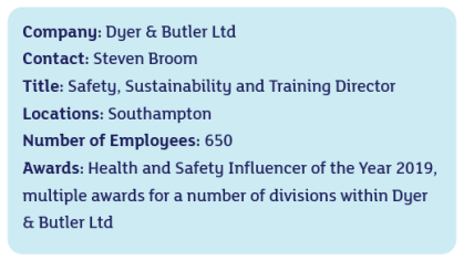 Dyer and Butler info