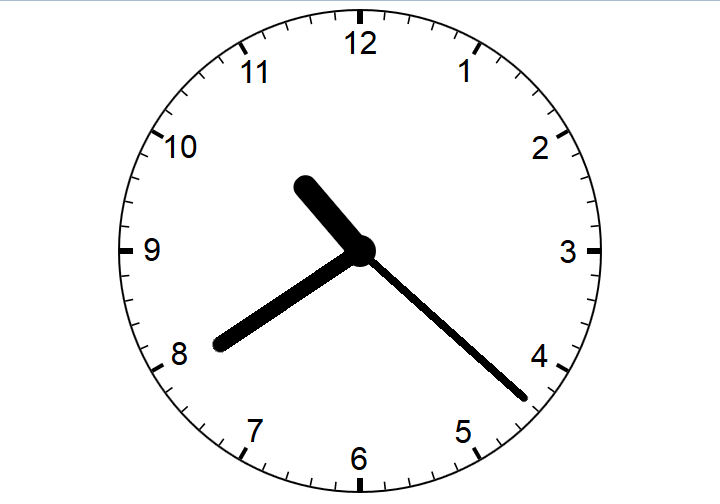 Responsive Analog Clock with CSS3 and JavaScript
