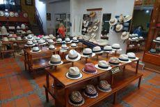 In Cuenca gefertigte Hüte