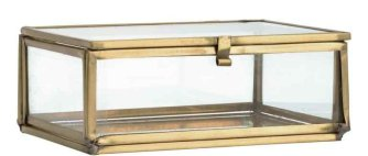 3 Glazen kistje