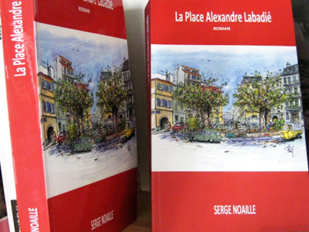 Photo of Serge Noaille's novel, illustrated by Phil.