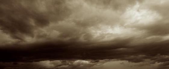 Gloomy weather…