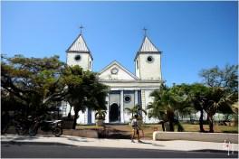 Dessin de l'église de Saint-Pierre inséré dans la photo de l'existant
