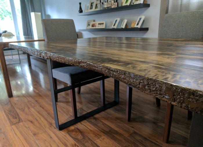 Dinner Table: The (almost) never ending project