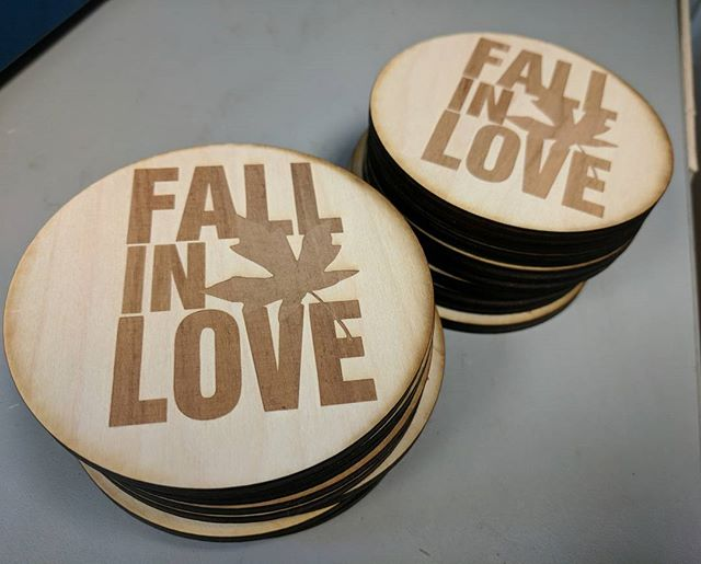 Coasters turned out well!