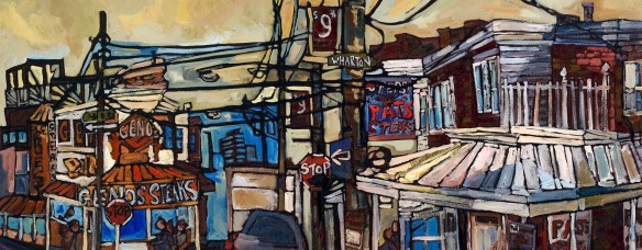 Pat's King of Steaks. Philadelphia Cheesesteak Art
