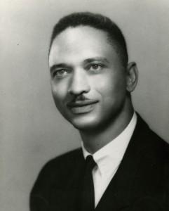Portrait photograph of Leon Sullivan