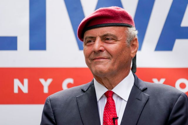 GOP hopeful Curtis Sliwa sees the streets, subways as path to NYC mayor's chair