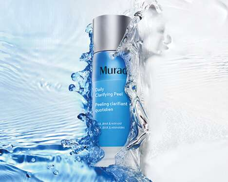 Clarifying Alcohol-Free Cosmetic Peels – The Murad Daily Clarifying Peel Smoothes Skin Texture (TrendHunter.com)