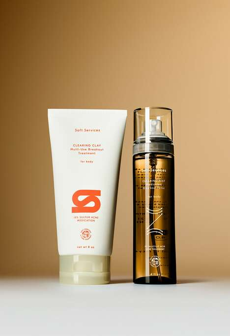 Acne-Clearing Body Care Duos – Soft Services' Clearing Duo is an Acne Treatment for the Body (TrendHunter.com)