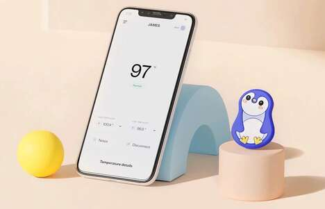 Wearable Child Thermometers – The Walnut Thermal Smart Wireless Thermometer Offers Peace of Mind (TrendHunter.com)