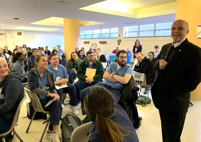 La Salle students undergo poverty simulation with community leaders