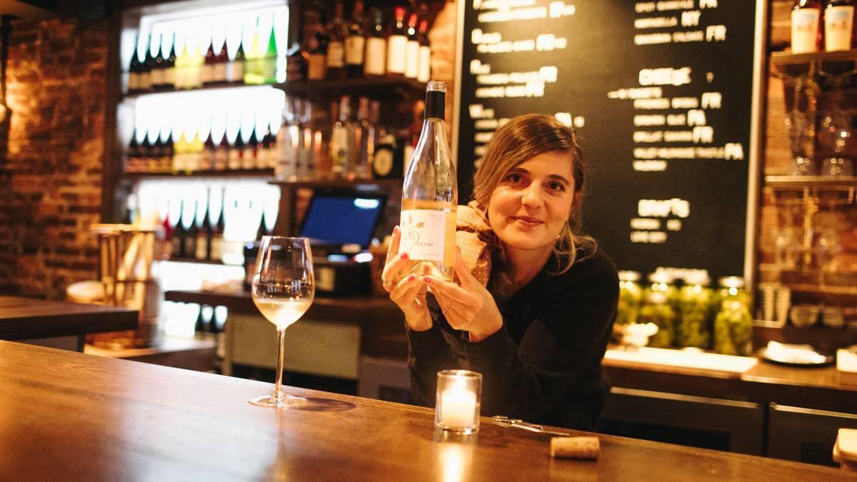 Le Caveau owner Chloe Grigri