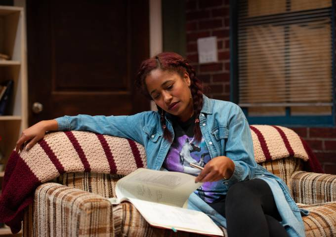 Playwright Amina Robinson