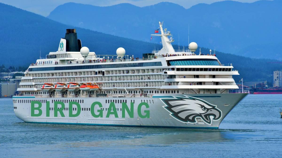 Eagles booze cruise