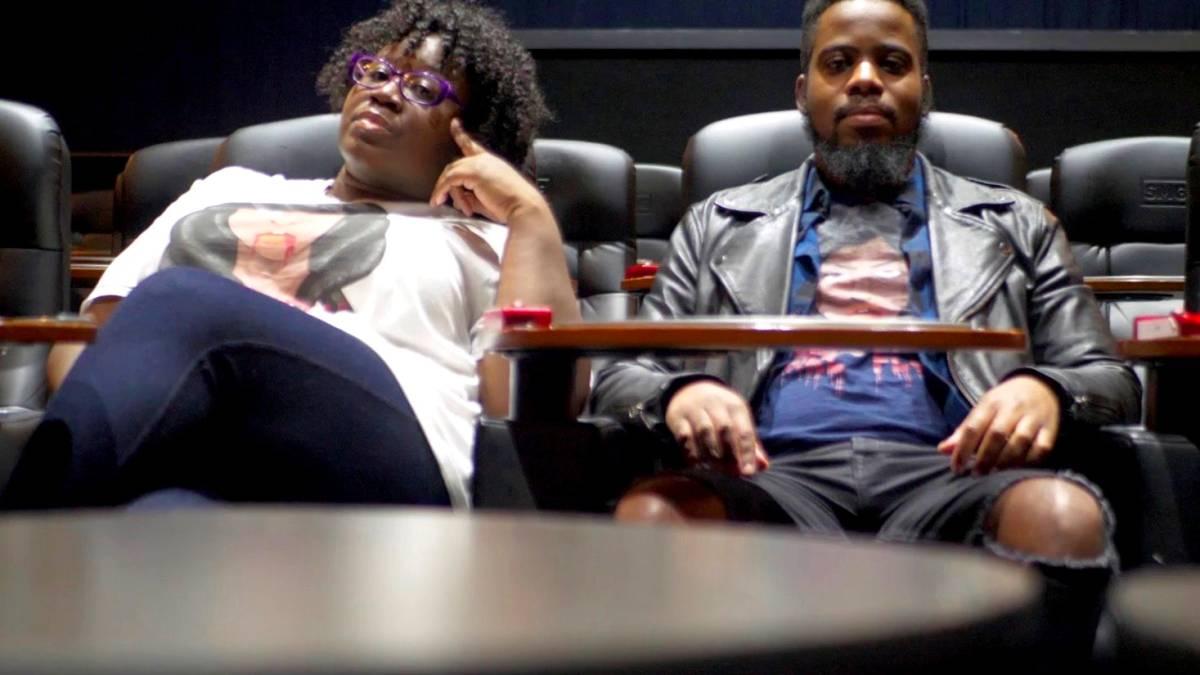 Philadelphia filmmaker Qadir Muhammad and Jasmine Goode