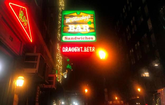 McGlinchey Bar on 15th Street