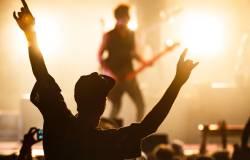 Punk rock concert