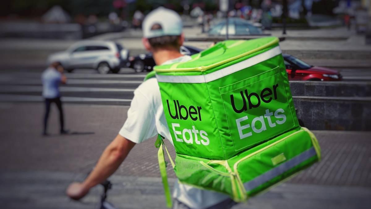 Uber Eats guy