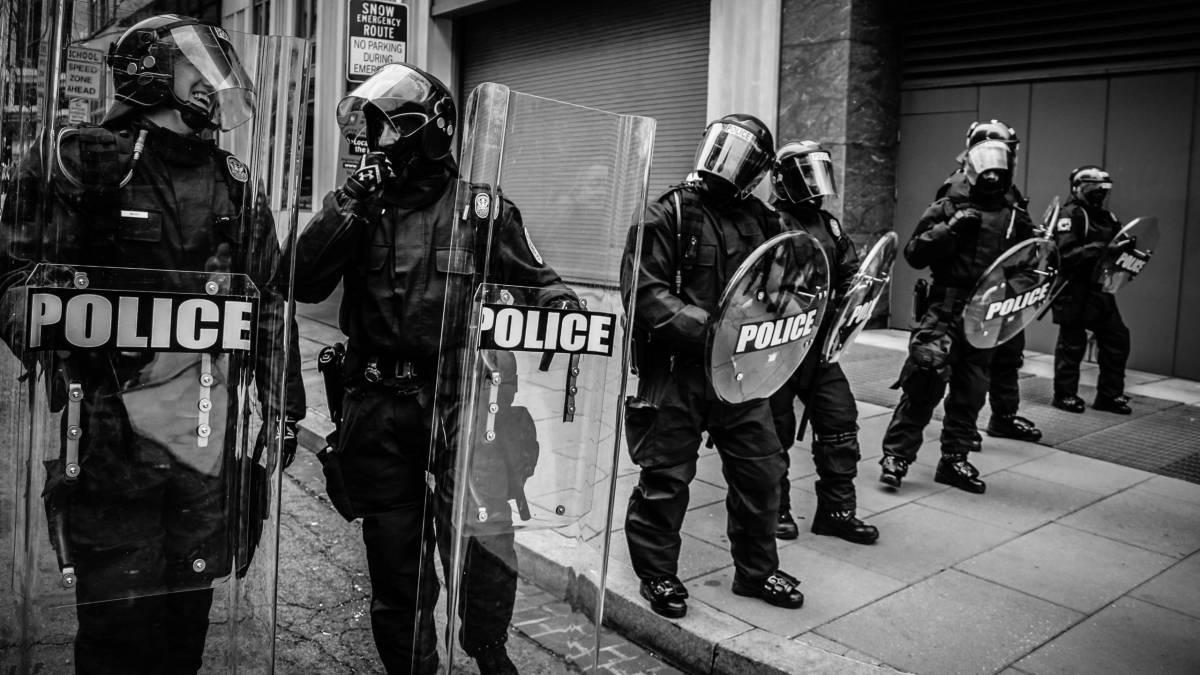 Cop line