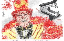 Mummers cartoon