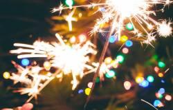 NYE sparklers