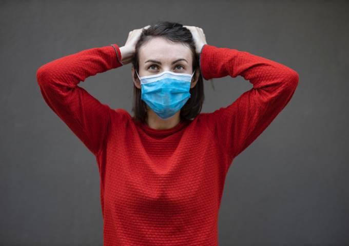pandemic woman