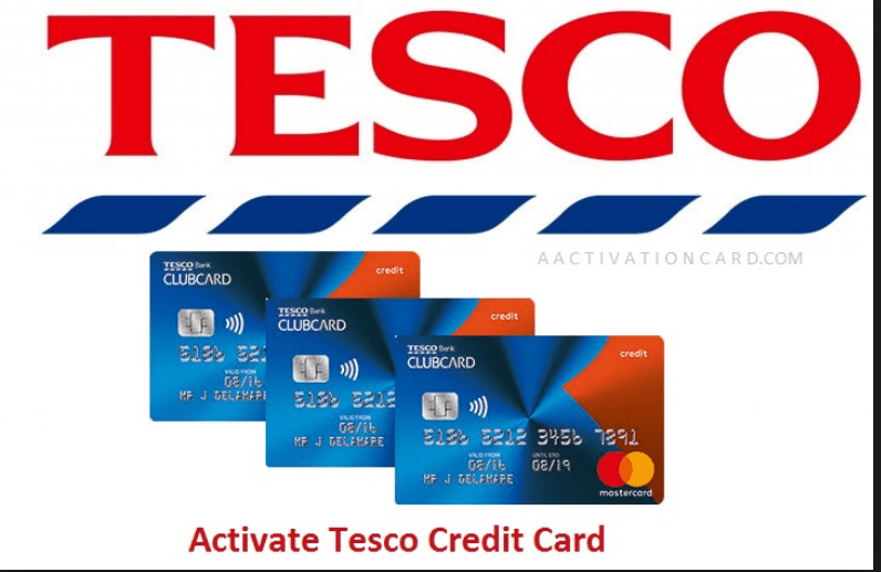 Online Activate Tesco Credit Card