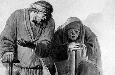 Краткая история милостыни  в России