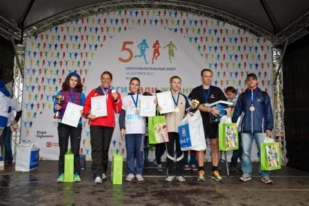 Компания Herbalife стала партнером благотворительного забега в парке Горького