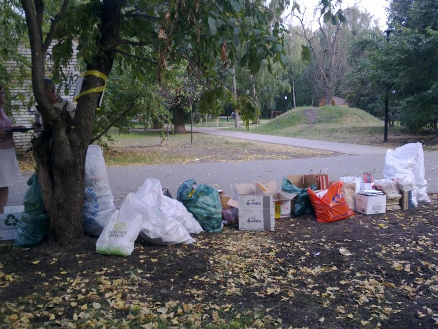 «РазДельный сбор» мусора и хулиганство