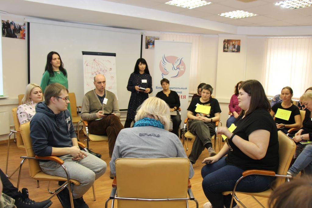 В БДФ «Виктория» состоялся семинар «Подготовка к сетевой встрече»