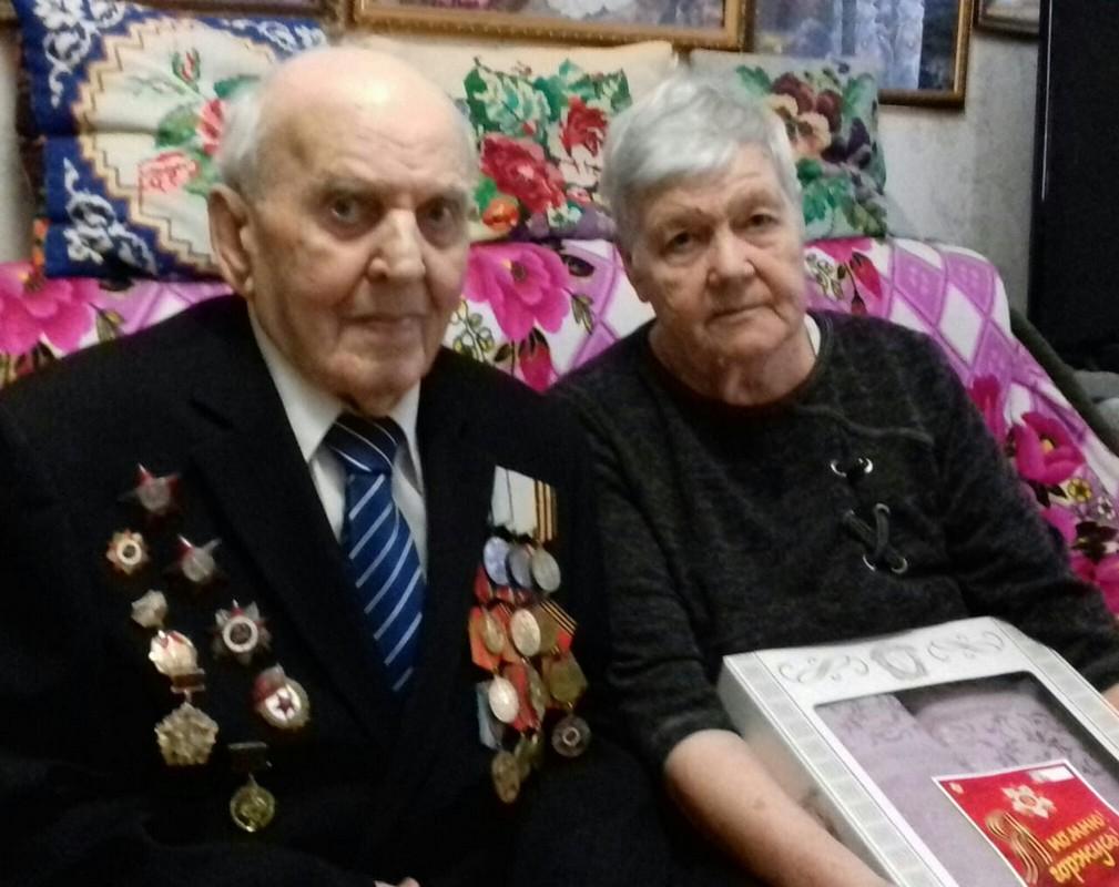 Ветеранов поздравили с Днем защитника Отечества в станице Северской